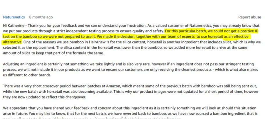 Customer Service Response