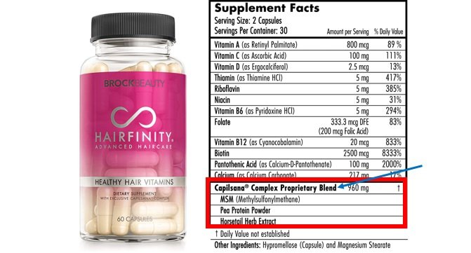 Hairfinity Proprietary Blend Review