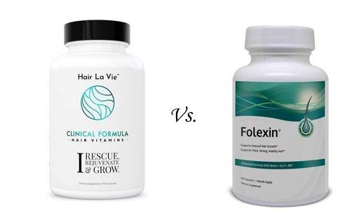 Folexin vs Hair La Vie