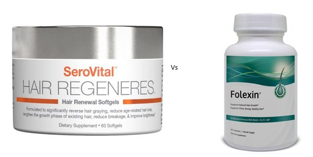 Comparison to Folexin Hair Supplement