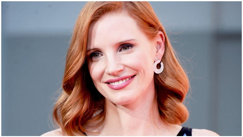 Jessica chastain natural red hair