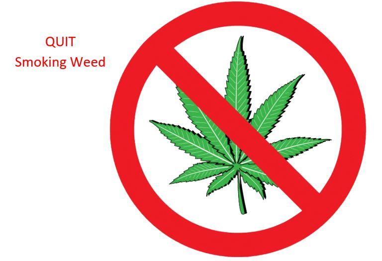 Reduce marijuana intake gradually