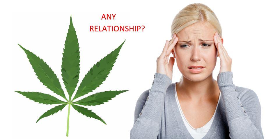 Marijuana induces stress