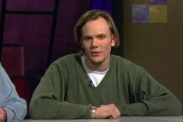Joel MChale screen grab from the 90s